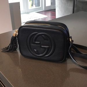 Gucci soho disco bag not authentic